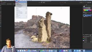 Affinity Photo - Teil 9: Objekte ineinander kopieren und Farben anpassen
