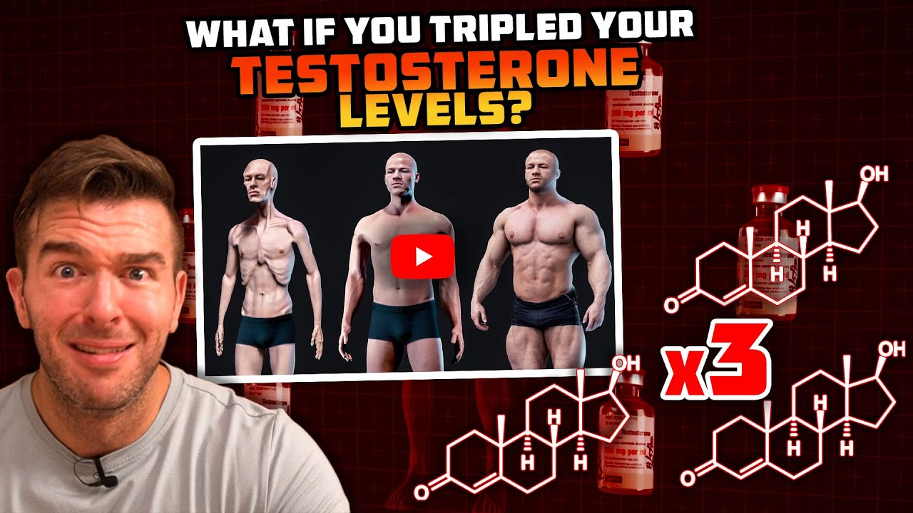 What If You Tripled Your Testosterone Levels? (the most ABSURD video on hormones I've ever seen)