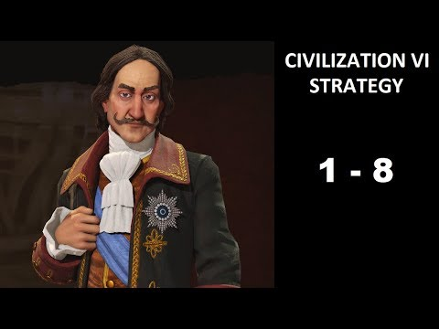 Civilization VI Strategy, Episode 1-8: Free Kandy