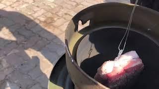 #2. 오늘은 뭘먹지 2탄 통 삼겹살 바베큐 구이 도전