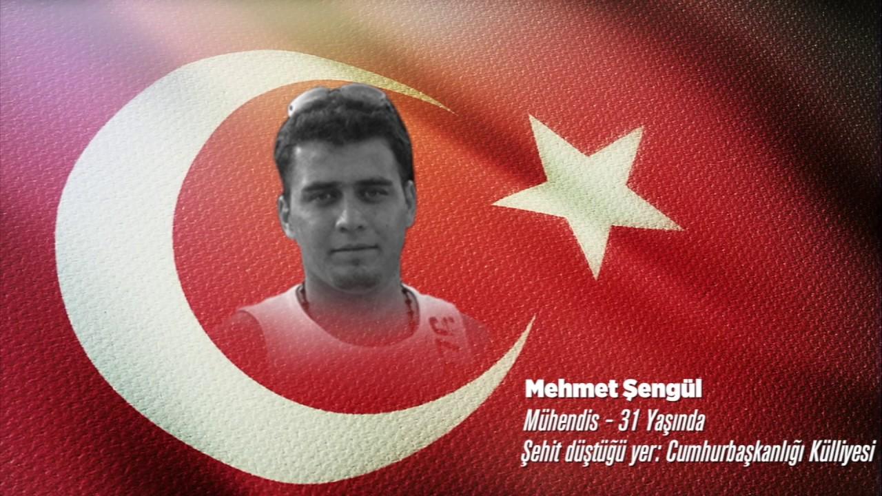 15 Temmuz Şehidi Mehmet Şengül