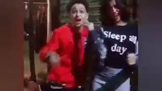 سامر المدني بيرقص مع حبيبته علي مهرجان هزفر موس❤️❤️
