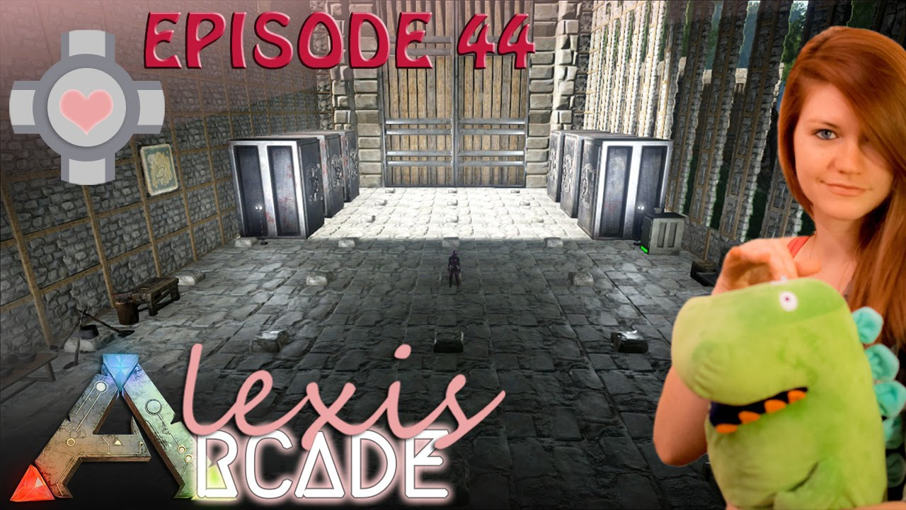 Ark Survival Evolved Interior Decorating With Alexis Arcade Ep 44 Gameplay Youtube