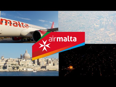 AIR MALTA | TRIP REPORT |  BERLIN-TXL TO MALTA | A320