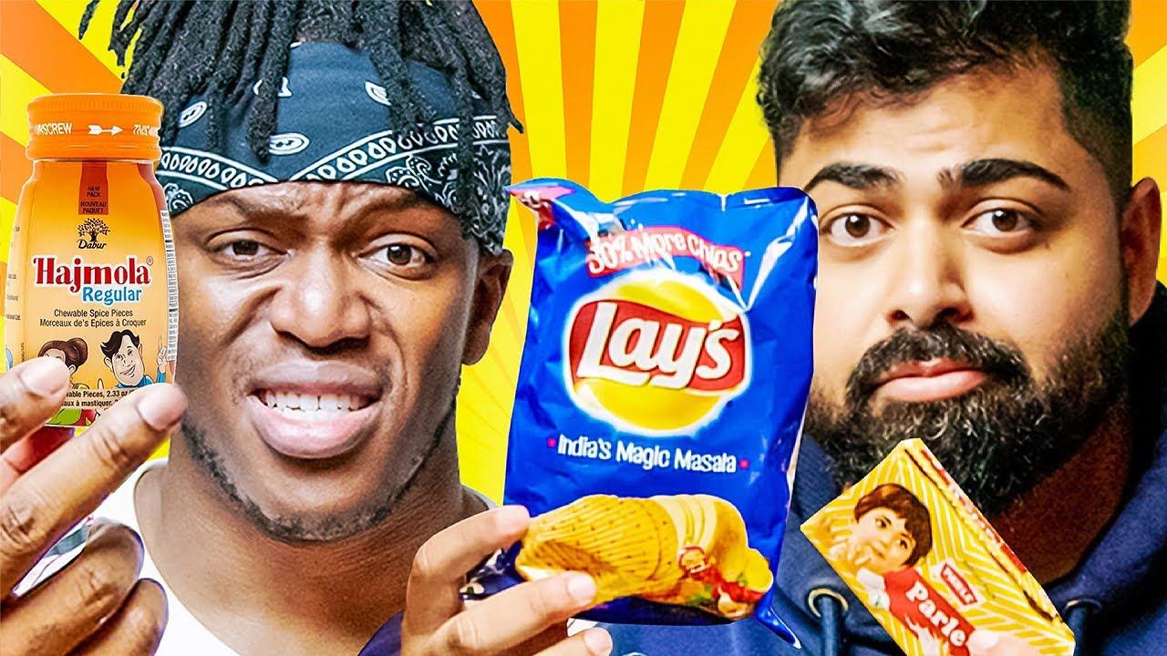Download KSI Tries INDIAN Snacks!