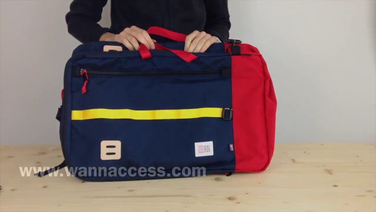 Topo Designs Travel Bag - YouTube