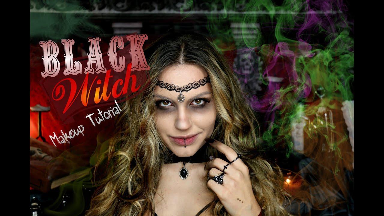 Black witch halloween makeup tutorial mrsalexandraaa youtube black witch halloween makeup tutorial mrsalexandraaa baditri Images
