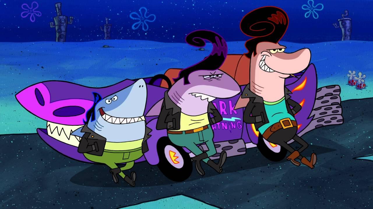 Spongebob Squarepants Quot Sharks Vs Pods Quot Youtube