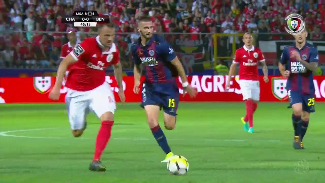 Resumo Benfica: Resumo Chaves 0-1 Benfica (Liga 2ªJ)