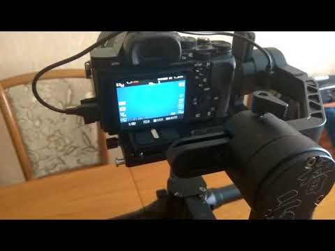 Zhiyun Crane 2 - управление Sony A7s