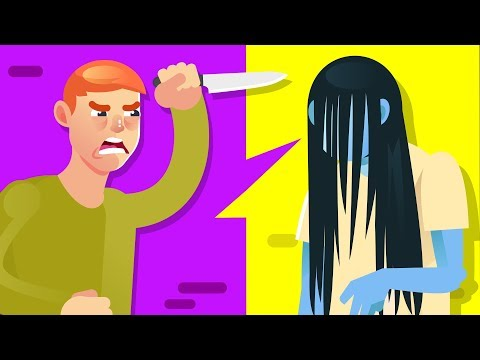 YOU vs SAMARA (The Ring) Could You Defeat and Survive Her? (The Ring Movie) || FUNNY ANIMATION