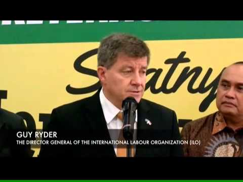 Press Conference: Guy Ryder & Hanif Dhakiri on Employment Issues in Indonesia