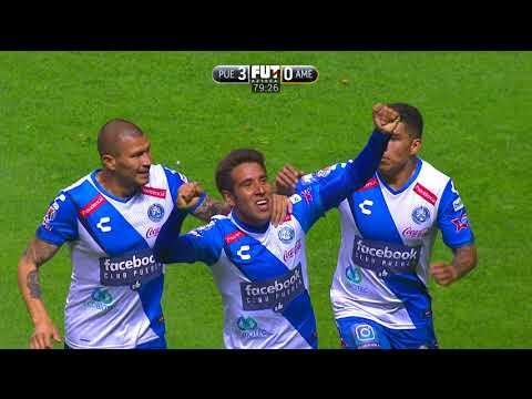 Puebla 3-1 América | J16 - Clausura 2018