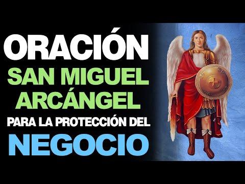 🙏 Oración a San Miguel Arcángel PARA PROTECCIÓN DEL NEGOCIO Y DINERO 💵