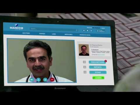 Manddo Stands for Medicines and Doctors Online