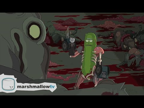 Rick and Morty - Gurken-Rick auf der Flucht [deutsch, german]