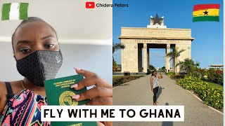 Fly With Me First Time In Ghana   First Impressions