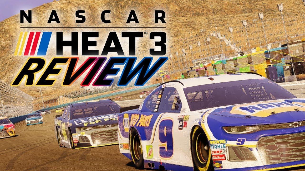 NASCAR HEAT 3 REVIEW