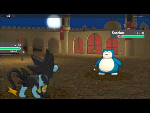Pokemon Brick Bronze How To Get Snorlax Youtube