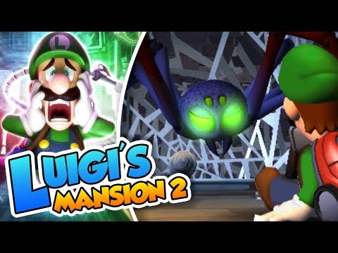 ¡Posesión aracnida! - #04 - Luigi's Mansion 2 (3DS) DSimphony