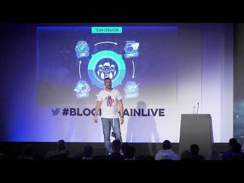 Esports development & blockchain at Blockchain Live, London, by DreamTeam CEO [EN]