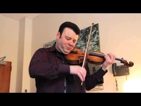 Vadim Gluzman performs an excerpt of Tchaikovsky's Violin Concerto
