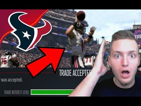 NO WAY THIS LEGEND QUARTERBACK TRADE GOT ACCEPTED! - Madden 17 Houston Texans Connected Franchise #6
