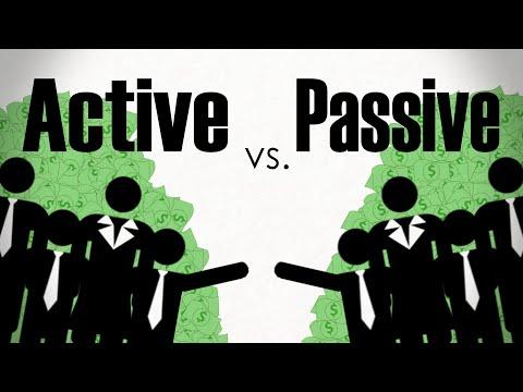 The Active Vs Passive Investing Debate