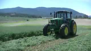 Hay Harvest at Front Porch Farm