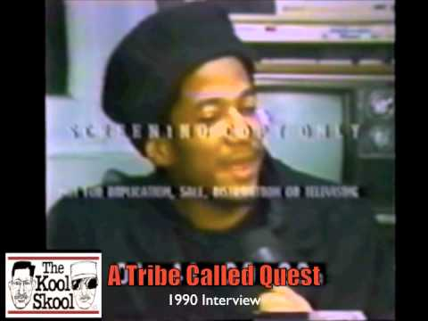RARE A Tribe Called Quest 1990 Era T.V. Interview From N.Y. T.V. *The Kool Skool Exclusive*