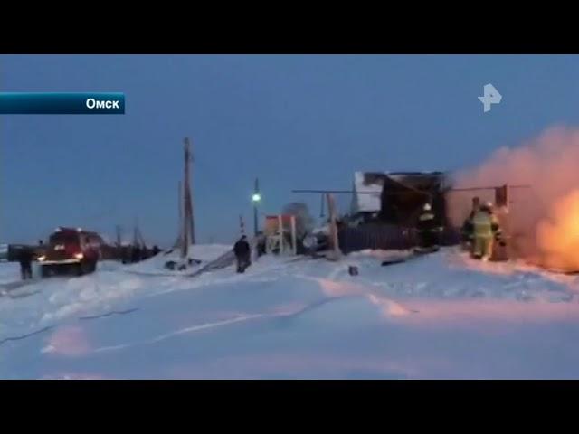Установлена причина пожара в Омске, в котором сгорели пятеро детей
