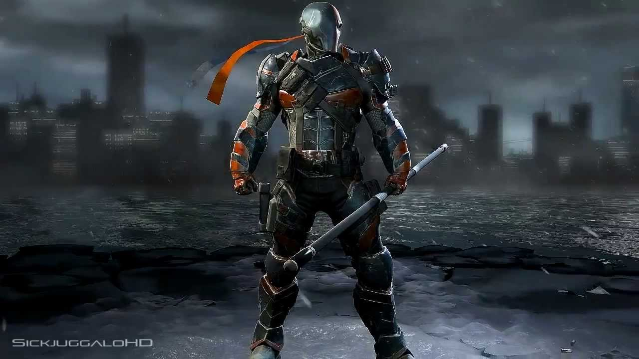 Amazon.com: Batman Arkham Origins: Deathstroke Play Arts Kai ...