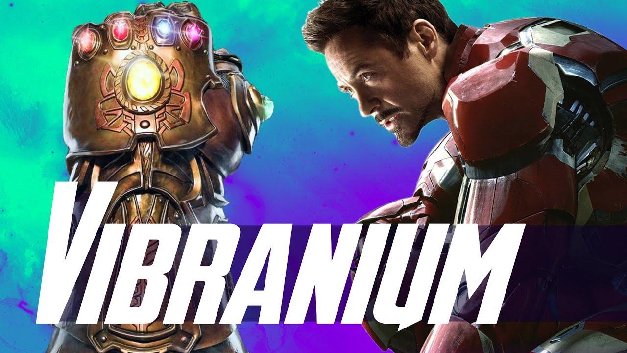 Iron Man Vibranium Infinity Gauntlet Armor Avengers 4