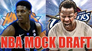 2019 NBA MOCK DRAFT: Picks 1-30 (Post Anthony Davis Trade)