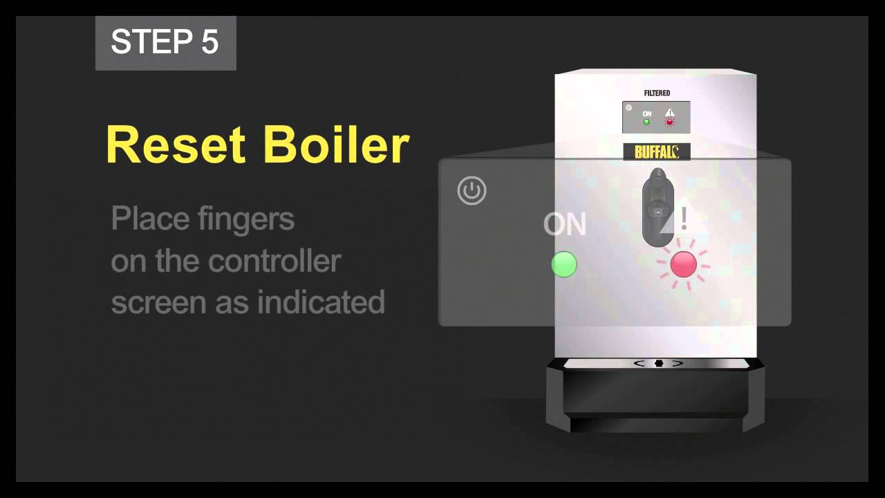 How to Change the Filter - Buffalo Auto Fill Water Boiler from ...