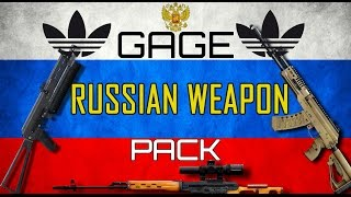 Payday 2 DLC review - Gage Russian Weapon Pack
