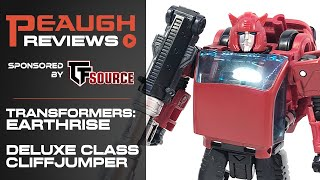 Video Review: Transformers EARTHRISE - Deluxe CLIFFJUMPER