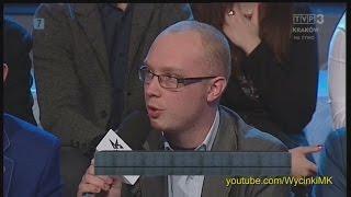 Młodzież kontra 579: Radosław Piech (Stow. Koliber) vs Joanna Scheuring-Wielgus (Nowoczesna)