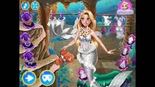 Glamorous Mermaid Wedding (Свадьба русалочки Рапунцель)