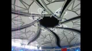 Shanghai Masters Qi Zhong Stadium Roof Closing