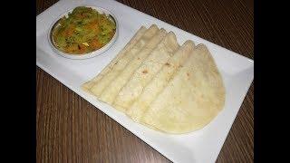 নরম তুলতুলে আটার তৈরী রুটি।।Ruti   Aata ruti  recipe in Bangla Video