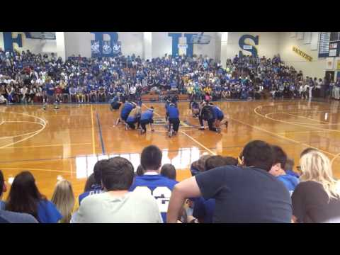 Fernandina beach high school pep rally 2015