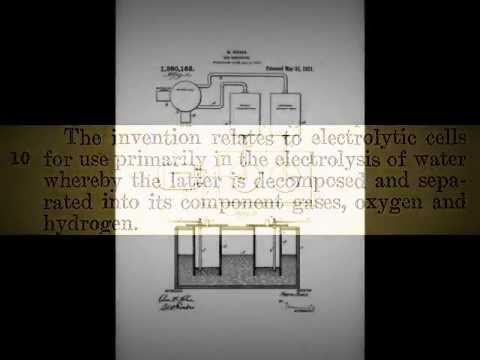 Water Fuel Technology Patents 1914-1923