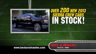GMC Truck September Sale - Beck and Masten Buick GMC