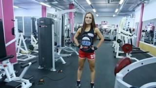 СМОТРИ, как быстро накачать ягодицы  Видео уроки фитнеса от бикинистки