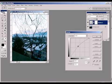 Photoshop CS2 - Phan 13 - Bai 6 - Phuc che anh cu thieu sang voi Layer Mask