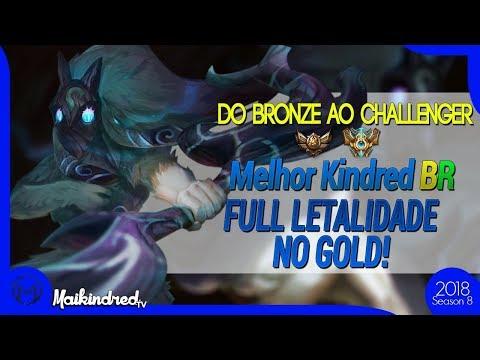SUBINDO DE ELO #67(GOLD): SERIA A BUILD ONE HIT DOS KINDREDS VIÁVEL NO GOLD?
