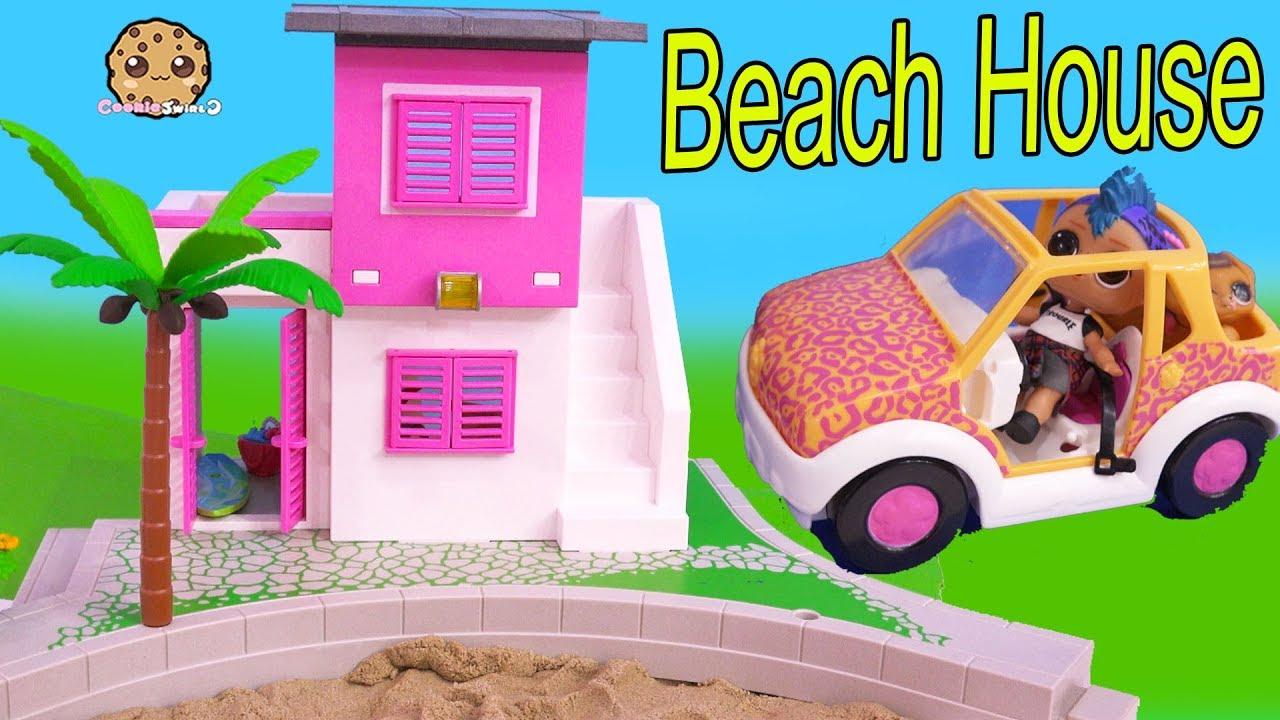 Summer Beach House ! LOL Surprise Punk Boi Video Part 1 - YouTube