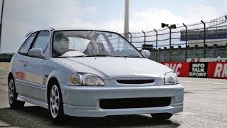 Forza Motorsport 4 - Honda Civic Type-R 1997 - Test Drive Gameplay (HD) [1080p60FPS]