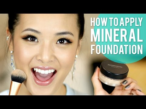 How To Apply Mineral Foundation Bareminerals